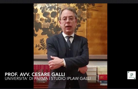 Prof. Avv. Cesare Galli   Le novità 2019 in materia di marchi e brevetti